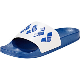 arena Team Stripe Slide Sandalen, blue-white-blue